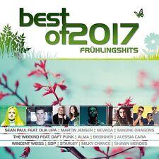 BEST OF 2017: FRÜHLINGSHITS - LADY GAGA/SEAN PAUL/MILKY CHANCE/+  2 CD NEU