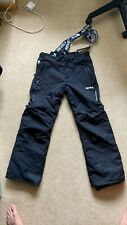 Mens Nevica waterproof windproof ski trousers size M