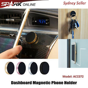 2X Magnetic Magnet Dashboard Cell Phone Holder Dash Car Mount Stand AD072