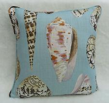 Scalamandre Fabric Cushion Cover 'Coquina' Multi on Sea - 100% Linen