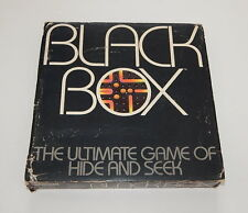 Black Box Board Game of Hide and Seek Parker Brothers 1978 R11342