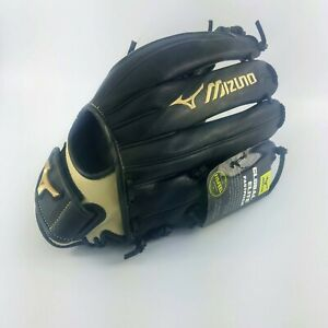 "Mizuno Global Elite 13"" Fastpitch Softball Glove - Left - Black - GGE 70FP"