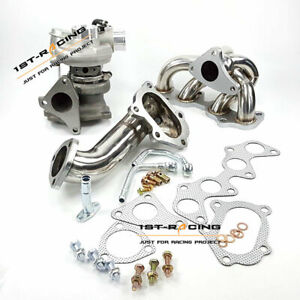 Fit Toyota 4EFTE Starlet EP82/ EP85/ EP91 Turbo + Manifold +TD04 Downpipe t-304