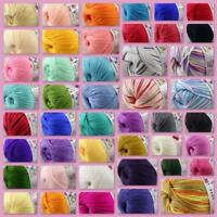 1Ball x50g Soft Multi-Color Cashmere Silk Wool Hand knitwear knitting Baby Yarn