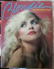 """Blondie"" by Lester bangs/1980 1st print/Omnibus Press/Vg/Classic Biography book"