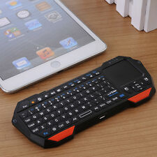 Mini Wireless Bluetooth Keyboard Multi-Touch Mouse Pad Backlit Qwerty 10M Remote