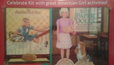 American Girl Book Lot Doll School Art Studio Kit Paper Dolls Tees& Accs Crafts