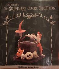 NIGHTMARE BEFORE CHRISTMAS LOCK, SHOCK AND BARREL VOTIVE HOLDER 2001