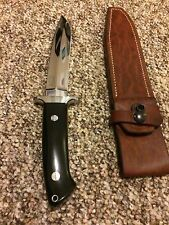 "R.W. Loveless ""Maker"" BATTLEFIELD  Knife /double naked Lady/Sheath-RARE!! Mint!"