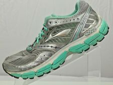 Brooks Glycerin 9 Running Sneakers-Training Silver/mint Athletic Shoe Womens 10B