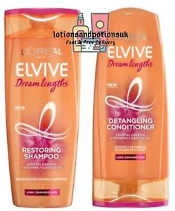 Loreal Elvive Dream Lengths Shampoo And Conditioner 400ml