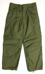 Original 1976 Dated M65 6 Pocket OG-107 Field Trousers, Medium Regular Unwashed