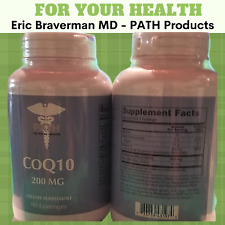 Dr. Eric Braverman CoQ10 Coenzyme Q10 Dietary Supplement Path Products 200 MG