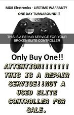 xbox Elite controller 1&2 repair service - 1 day turn around - LIFETIME WARRANTY