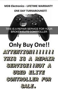 xbox Elite controller 1&2 repair service - 1 day turn around - LIFETIME WARRANTY