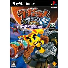 Used PS2 Ratchet & Clank: Size Matters Japan Import