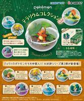 RE-MENT Pokemon Terrarium Collection Vol.3 Complete 6 pcs Set Candy Toy W/T