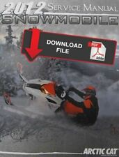 Arctic Cat 2012 ProCross XF1100 Turbo Sno Pro Service Manual