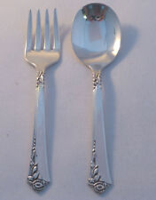 DAMASK ROSE- ONEIDA 2PC STERLING BABY SET(S)