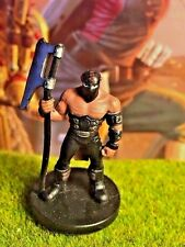 Half-Orc Executioner D&D Miniature Dungeons Dragons pathfinder fighter assassin