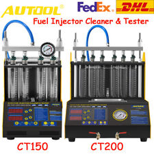 CT150/CT200 Ultrasonic Fuel Injector Tester Cleaner Machine For Cars Motorcycle