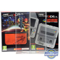 New 3DSXL BOX PROTECTOR for Nintendo Console STRONG 0.5mm PLASTIC DISPLAY CASE