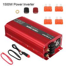 1500W/3000W Convertisseur Power  DC 12V à c.a. 220V-240V Inverter 2 USB 3.1A