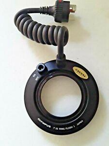 ************ OLYMPUS T10 ring flash Camera Japan OM MACRO electronic ***********