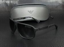 EMPORIO ARMANI EA4029 50638G Black Rubber Grey Gradient 64 mm Men's Sunglasses