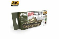 AK Interactive AK554 1945 GERMAN LATE WAR COLORS 6x17ml