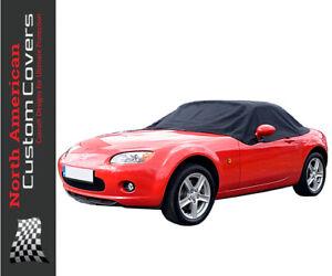 RP121 Mazda Miata MX5 Mk3 Convertible Soft Top Roof Half Cover - 2006 to 2015