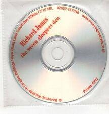 (GU618) Richard James, The Seven Sleepers Den - DJ CD