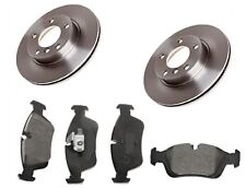 Vented Brake Discs X2 and Pads Set Front For BMW 3 Compact E36 318 ti 1997-2000