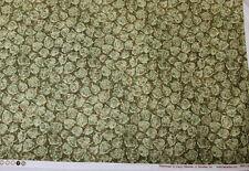 """Bittersweet Leaves Fabric Nancy Halvorsen Benartex #2095 44 1/2"""" x 1 Yd. 31"""""""