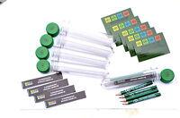 10 x Petling + Aufkleber + Logbuch + Stift -Set Behälter Geocaching Versteck 13k