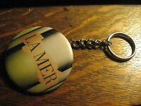 La Mer Estee Lauder Cream Advertisement Keychain Backpack Purse Clip Ornament