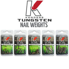 Tungsten Nail Weights - Multiple Sizes Available - Bass Fishing Kenders Outdoors