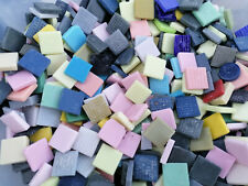 LOT 1kg MOSAIQUE TESSELLES EMAUX DE BRIARE pate de verre mix colories france