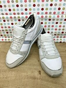 Versace Jeans Couture STELLA White Panel Sneakers Women's Trainers Size 6