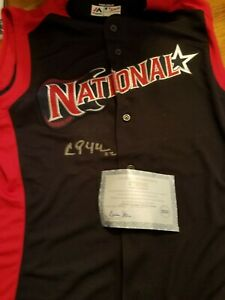 Clayton Kershaw Autographed All Star Jersey. ONE OF A KIND (authentic)STEINER