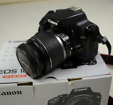 Canon EOS 1000D 10.1 MP DSLR Digitalkamera Kit mit EF-S 18-55 IS in OVP