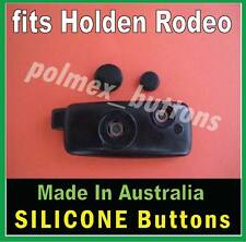 fits HOLDEN Rodeo remote key Silicone Repair BUTTONS - 2HRo