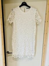 White Lace  Zara Dress, Size L(Uk 12-14)