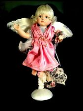"""Arielle"" The Spring Angel on Stand by Ann Timmerman Georgetown Collection"
