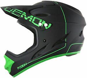 Demon Podium Full Face Mountain Bike Helmet (Black, L)
