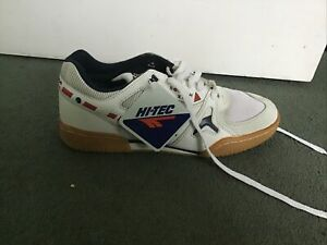 Hi Tec Mens Squash X4 Squash Shoes Size 8 Rare New In Box With Tags.