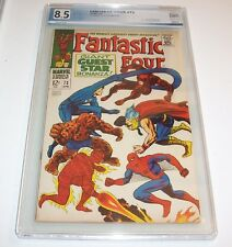 Fantastic Four #73 - PGX VF+ 8.5 - 1968 Marvel Silver Age (All Star crossovers)