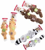 KONG Scrunch Knots For Dogs Puppies Small/Medium, Med/Large Various Tug Fetch