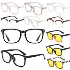 Blue Light Blocking UV Clear Lens Anti Eyestrain Glasses Computer Gaming Eyewear