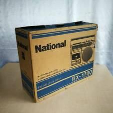 NATIONAL RX-1760 FM/AM Radio Cassette Boombox